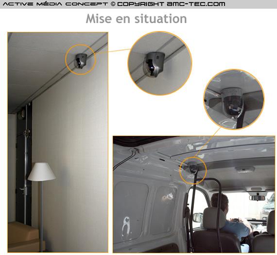 camera de surveillance autonome. Black Bedroom Furniture Sets. Home Design Ideas