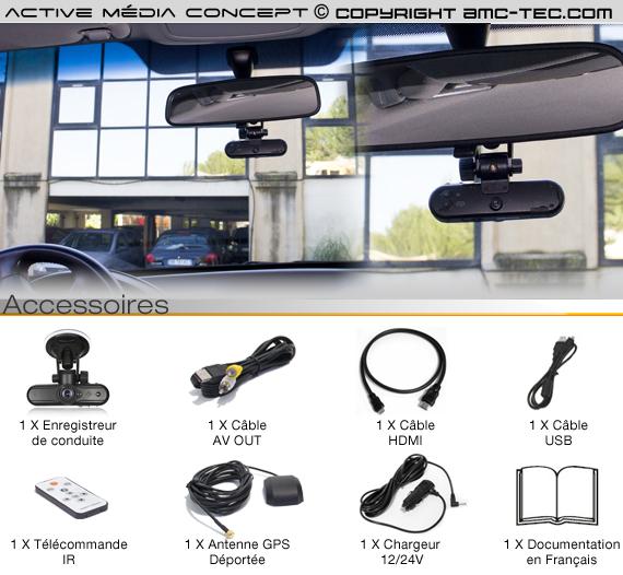 drs 1080p camera boite noire voiture hd 1080p avec module gps et acc l rom tre. Black Bedroom Furniture Sets. Home Design Ideas