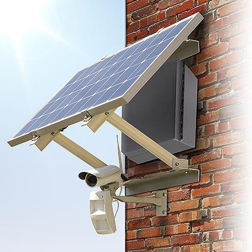 Cam 3g solaire p kit autonome cam ra enregistreur 3g waterproof ext rieure hd 1080p panneau - Camera surveillance autonome ...